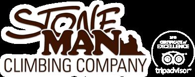 Stoneman climbing logo Trip Advisor excellence award